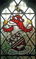 Willett coat of arms from Ronal Wilfrid's  memorial window
